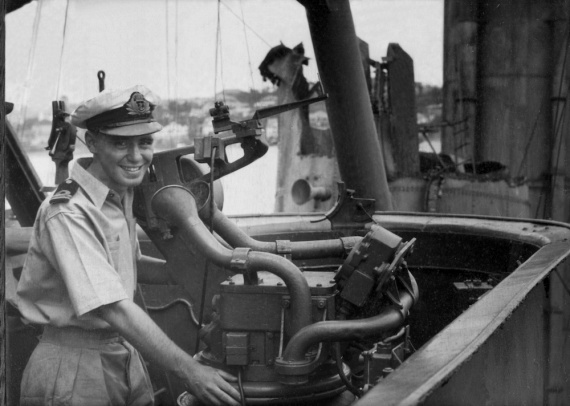 Lieutenant D.J. Hamer, RAN was awarded the Distinguished Service Cross for gallantry, skill and devotion to duty whilst serving in HMAS Australia during the successful assault operations in the Lingayen Gulf, Luzon Island