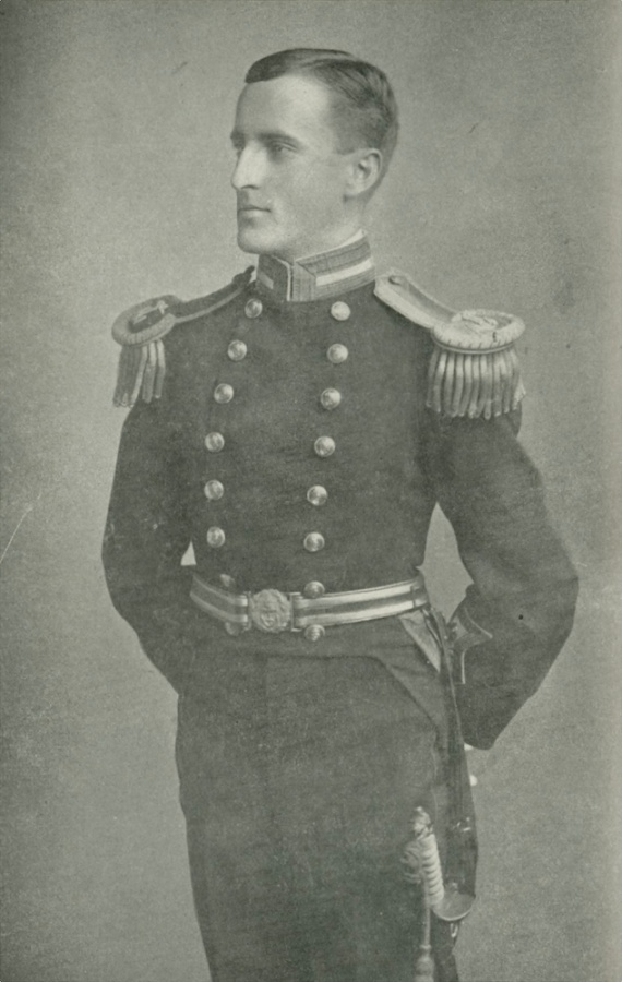 Lieutenant Commander C.B. Elwell who lost his life leading a bayonet charge