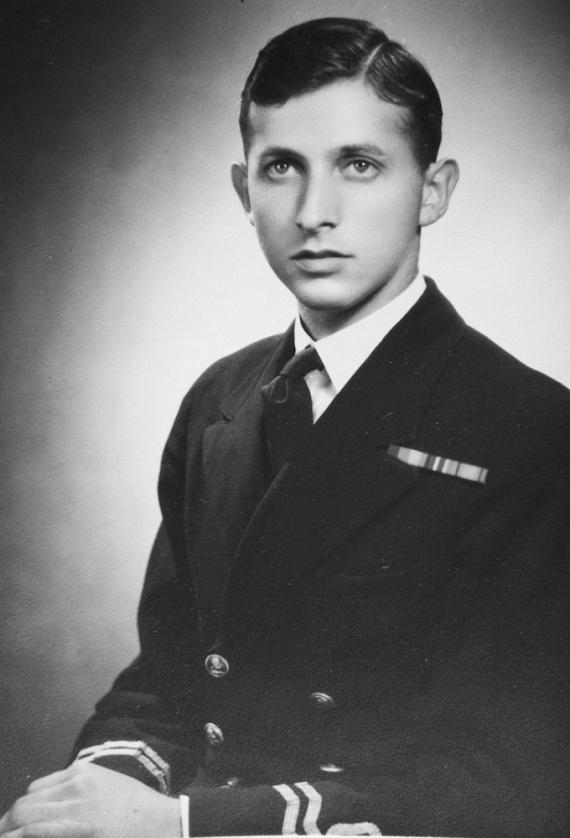 Lieutenant M.C. Hordern, RANVR