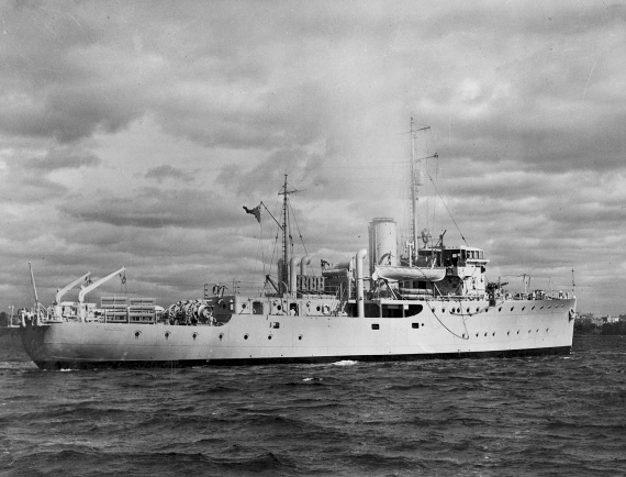 HMAS Mildura was one of sixty Australian Minesweepers built for service during World War II