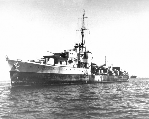 HMAS Norman was one of five N Class Destroyers commissioned into the Royal Australian Navy during World War II.