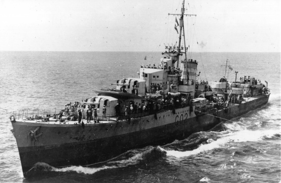 HMAS Nestor was one of 5 N Class destroyers transferred to the Royal Australian Navy from the Royal Navy