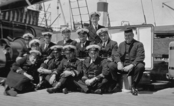 Some of HMAS Platypus' crew members
