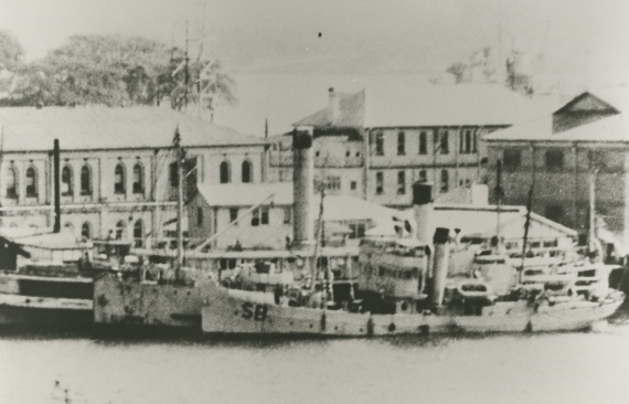 HMAS Samuel Benbow was in Sydney Harbour during the Japanese midget submarine attack