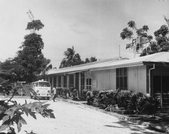 Tarangau's 32 bed hospital and the services it offered played an important role in the Manus Island community.
