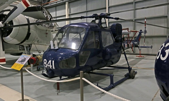 Scout 841 (891) is now on display at the Fleet Air Arm Museum in Nowra.