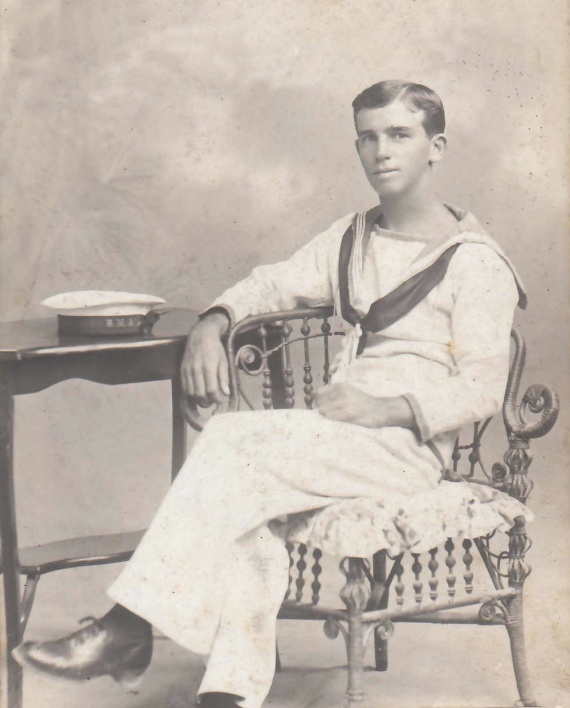 Boy Seaman Tom Williamson was one of those wounded during the action.