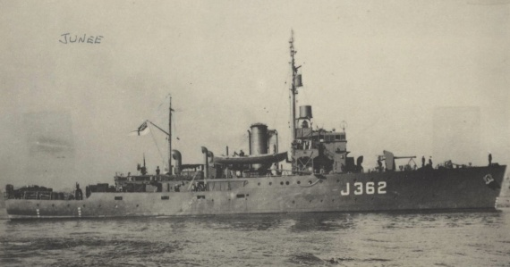 HMAS Junee was one of sixty Australian Minesweepers built for service during World War II