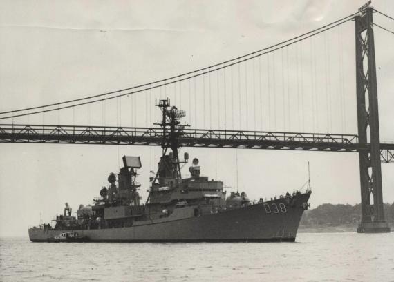 HMAS Perth in Canada, 1965
