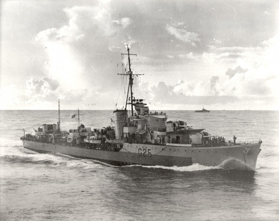 HMAS Nepal was one of five N Class destroyers transferred to the Royal Australian Navy for service during World War II