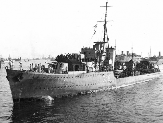 HMAS Nizam was one of five N Class Destroyers transferred to the Royal Australian Navy during World War II