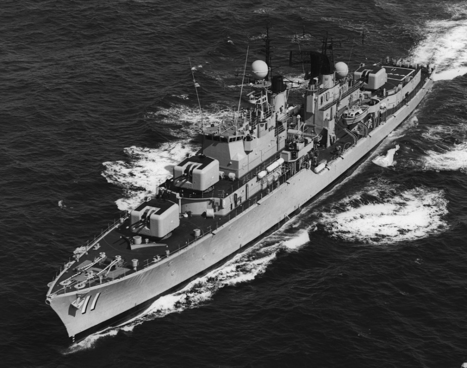 After celebrating her Silver Jubilee in June 1984, HMAS Vampire was one of only three serving Daring class destroyers left in the world.