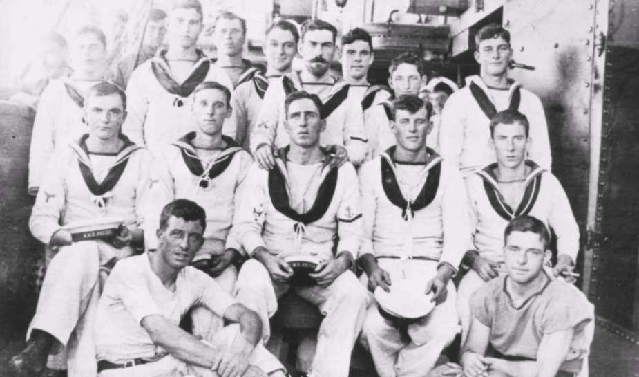 HMAS Psyche crew members from Western Australia