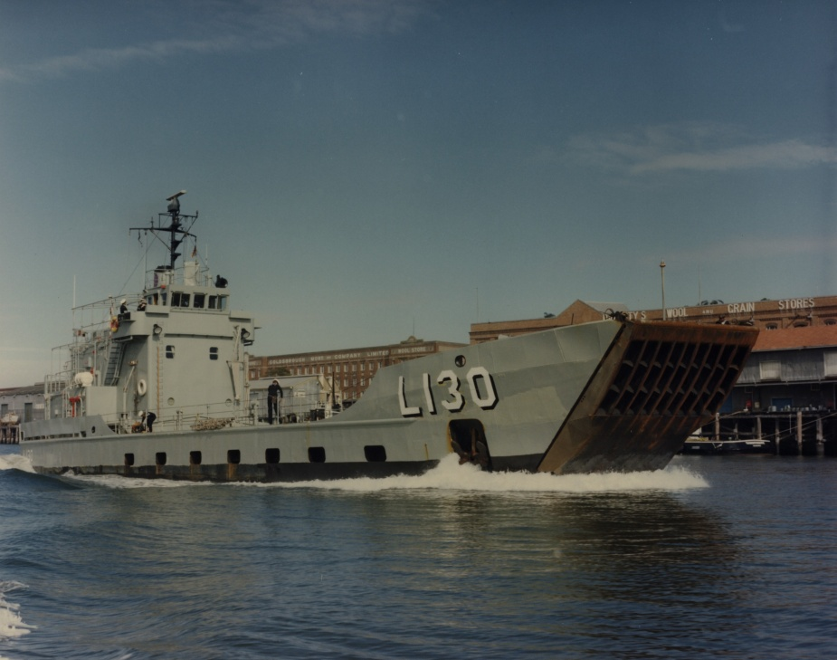 Wewak departing Brisbane c.1976