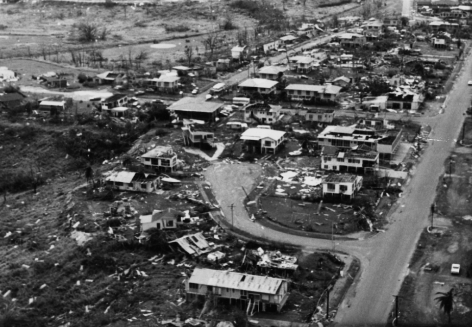 Darwin in the aftermath of Cyclone Tracy