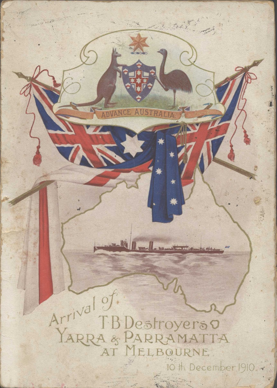 Arrival of the Royal Australian Fleet Programme