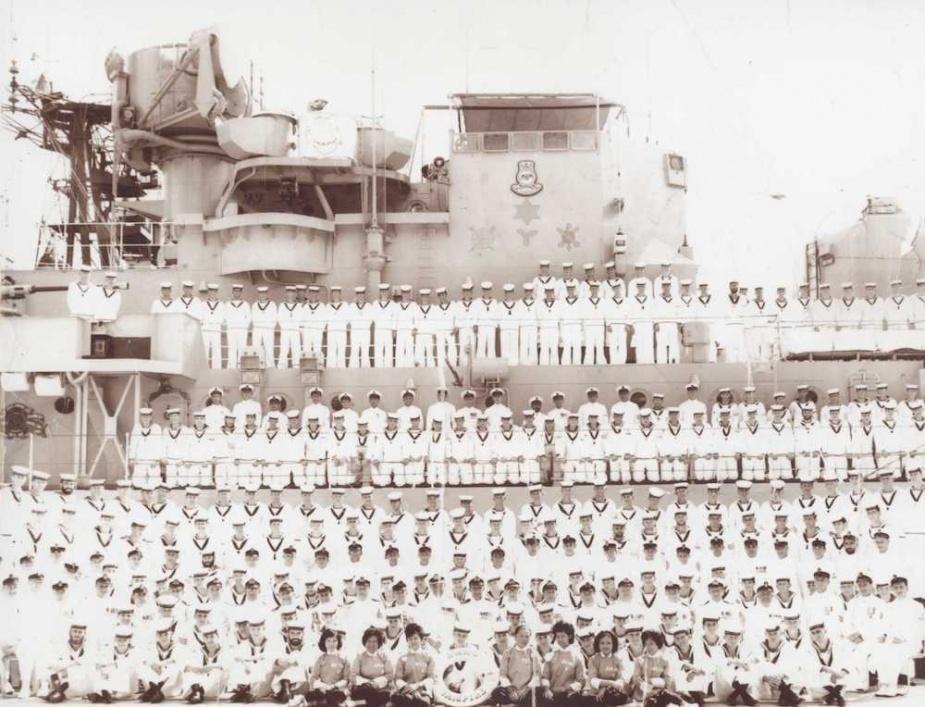 HMAS Vapmire's ship's company, 1964