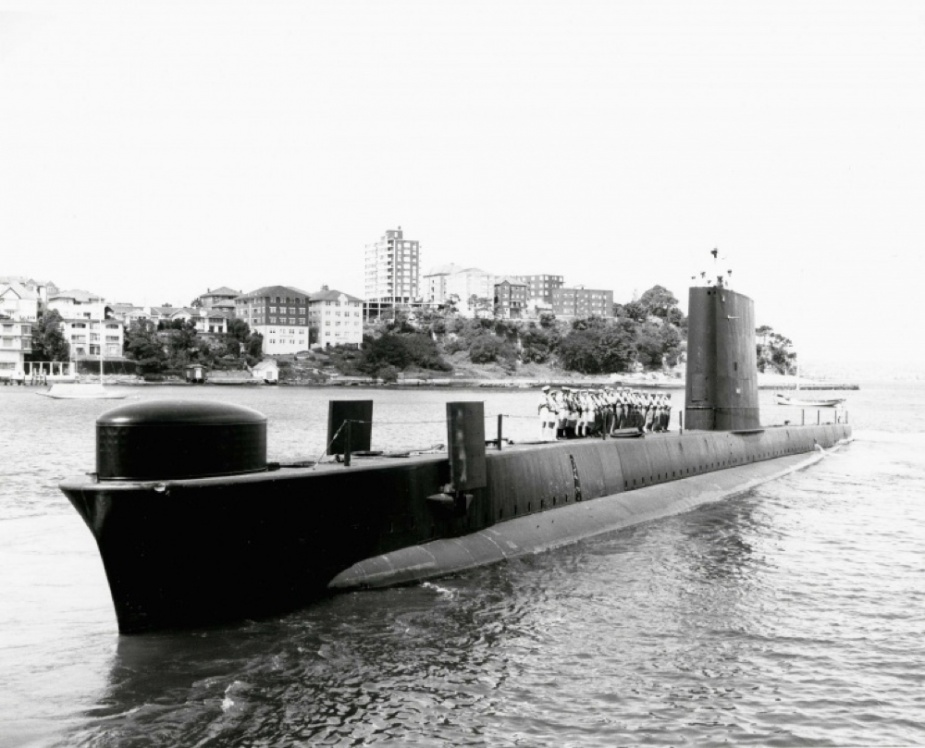 Oxley before her SWUP refit in 1977.
