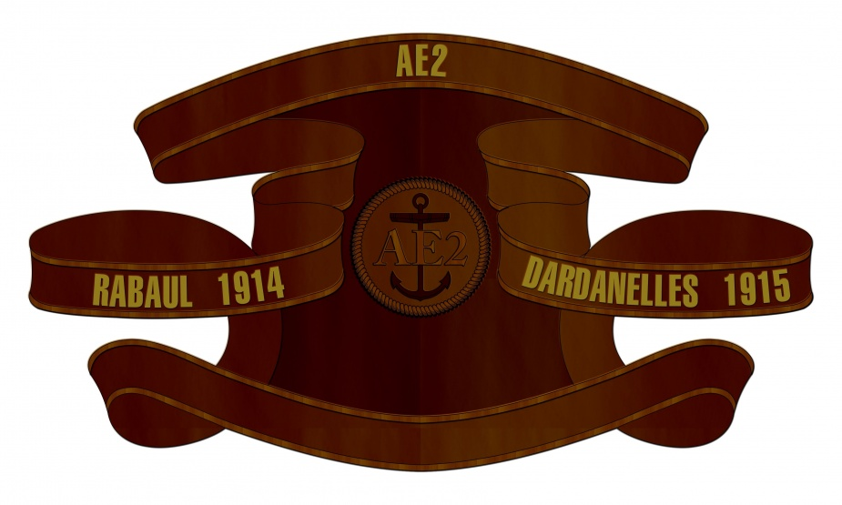 HMAS AE2 Battle Honour Board