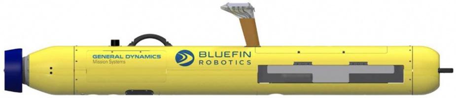 AUV-MP (Bluefin-9).