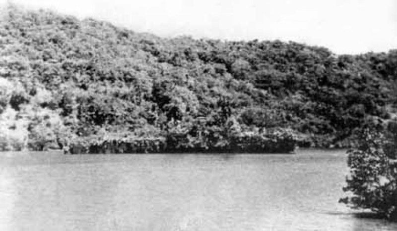 Abraham Crijnssen camouflaged during her escape from Java