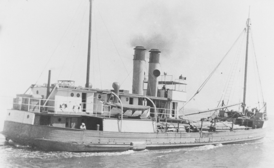 Allenwood prior to her conversion to an auxiliary minesweeper.