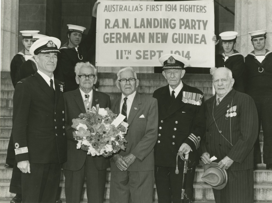 On 11 September 1978 four naval veterans who were involved in the 1914 ANMEF operation gathered at the Shrine of Remembrance in Melbourne to commemorate those lost in the operation.