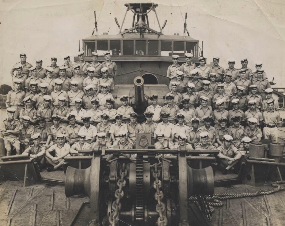HMAS Ballarat ships company, May 1944