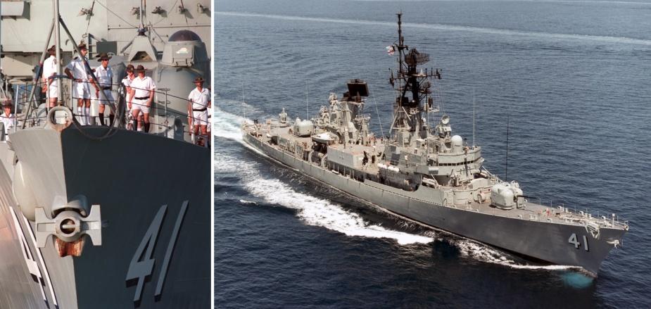 HMAS Brisbane (II).
