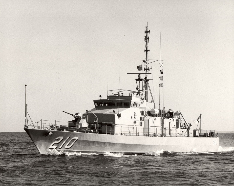 HMAS Cessnock conducting sea patrols
