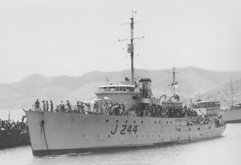 Castlemaine in Port Moresby shortly before being reassigned to participate in Operation HAMBURGER.
