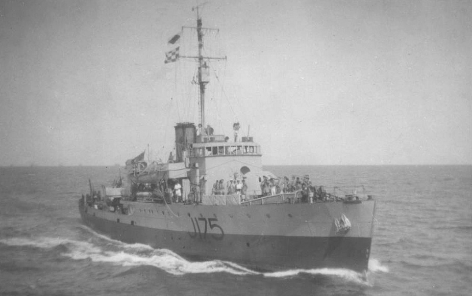 HMAS Cessnock was one of sixty Australian Minesweepers built for service during World War II.