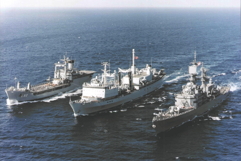 Tobruk in company with HMCS Preserver and USS William H Standley in waters off Mogadishu