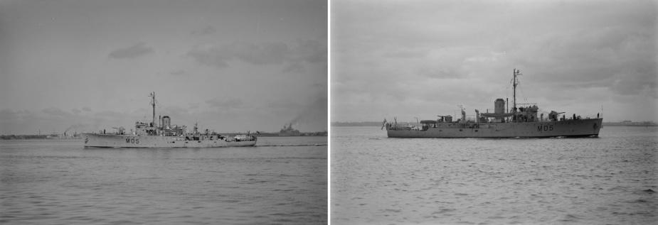 HMAS Colac (Allan C. Green, State Library of Victoria).