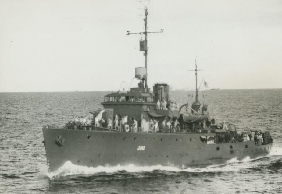 Colac at sea c.1944
