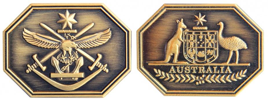 Left: Australian Defence Force Group Commendation. Right: Defence Group Commendation.