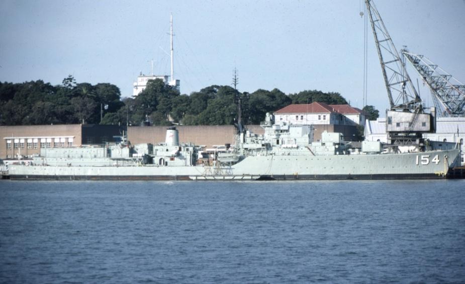 HMAS Duchess c.1977