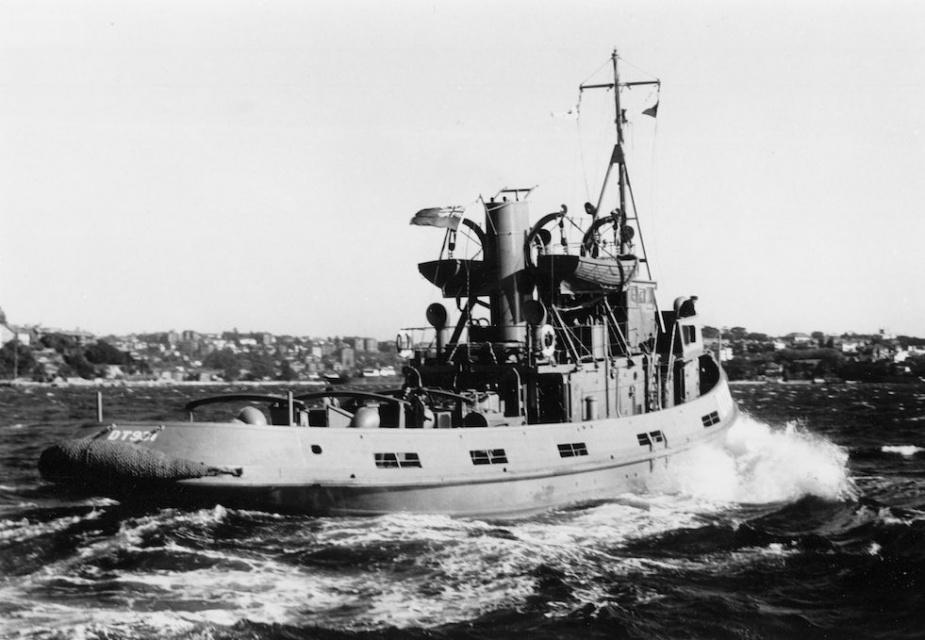 DT 931 on trials, circa 1946.