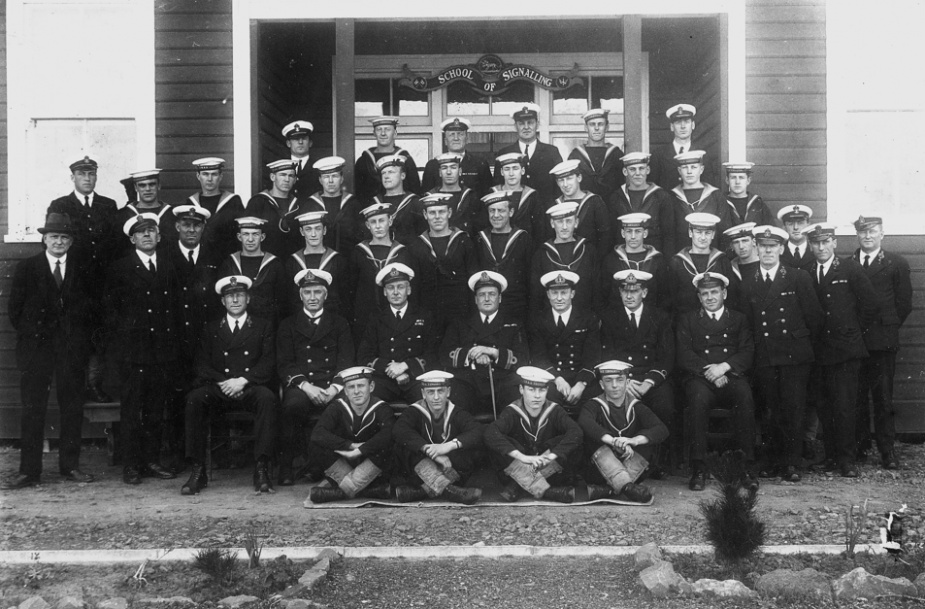RAN School of Signals, Flinders Naval Depot, HMAS Cerberus 1923