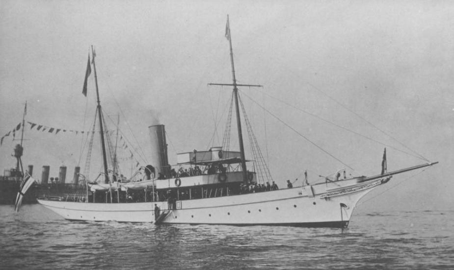 HMAS Franklin, circa 1920.