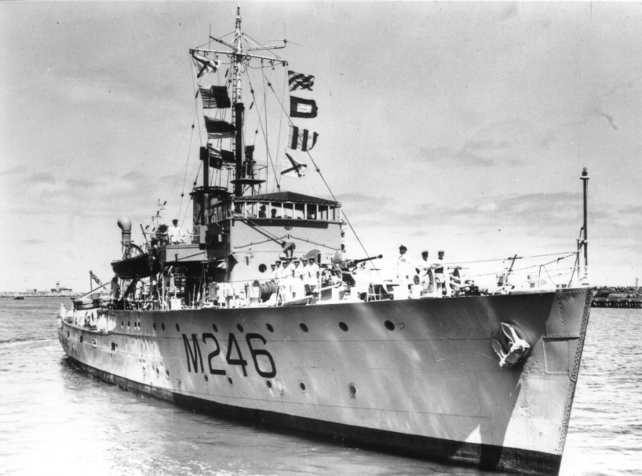 HMAS Fremantle was one of sixty Australian Minesweepers built for service during World War II