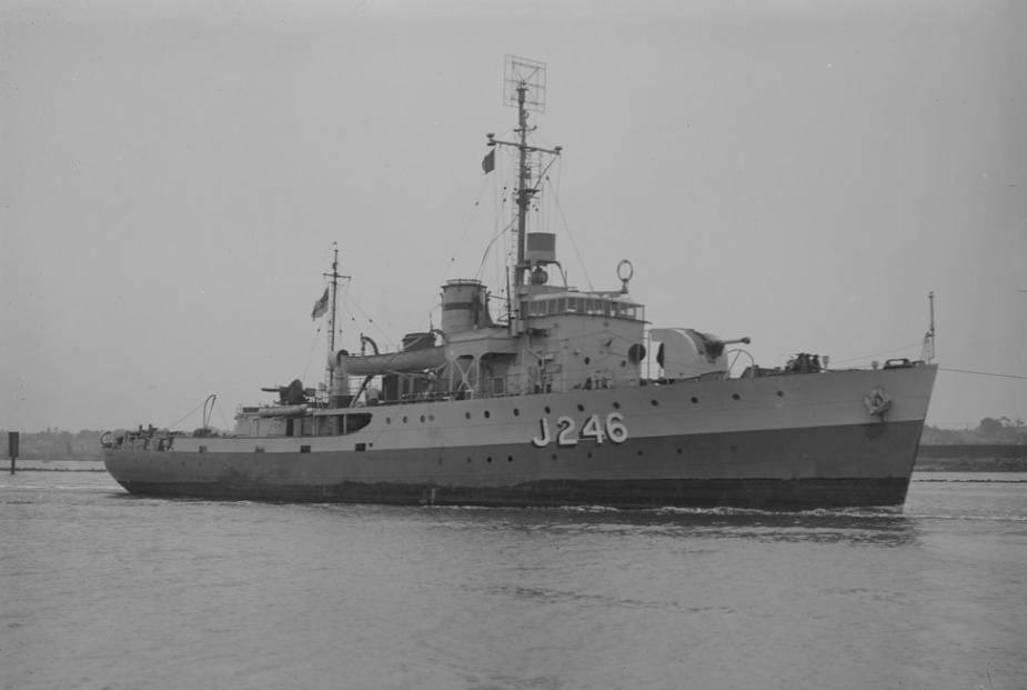 Fremantle performed important escort work during her wartime service, chiefly in northern Australian waters.