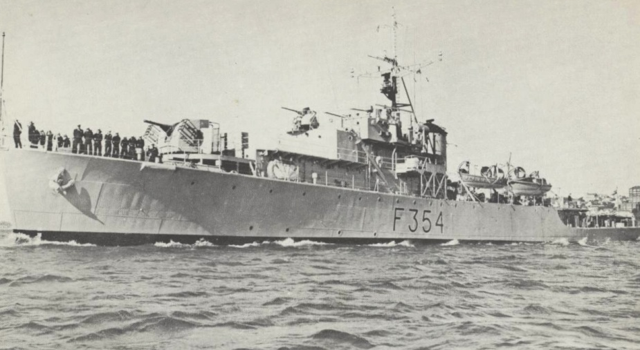 HMAS Gascoyne decomissioned for the final time on 1 February 1966 and was later sold for scrap