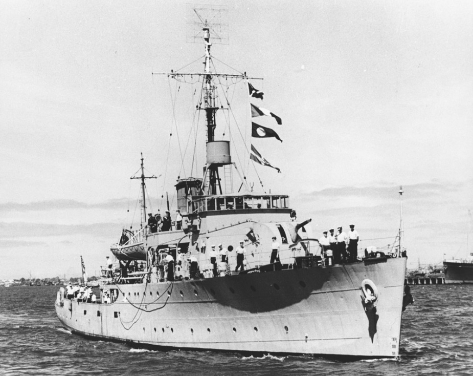 HMAS Gladstone was one of sixty Australian Minesweepers built for service during World War II.