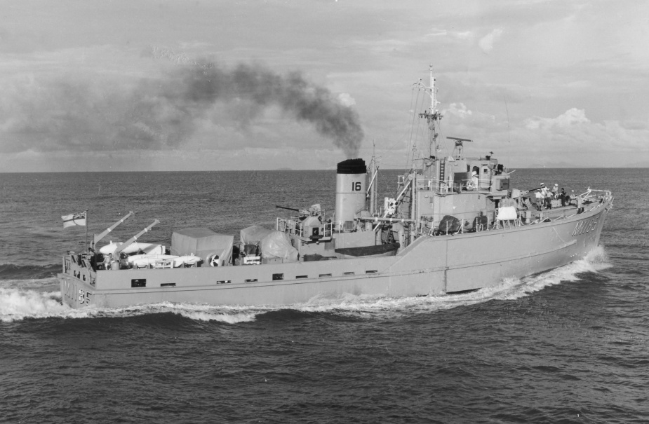 HMAS Gull was one of six Ton Class Minesweepers aquired by the Royal Australian Navy