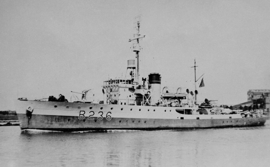 HMAS Ballarat (I) steamed over 130,000 miles during her five-year commission.