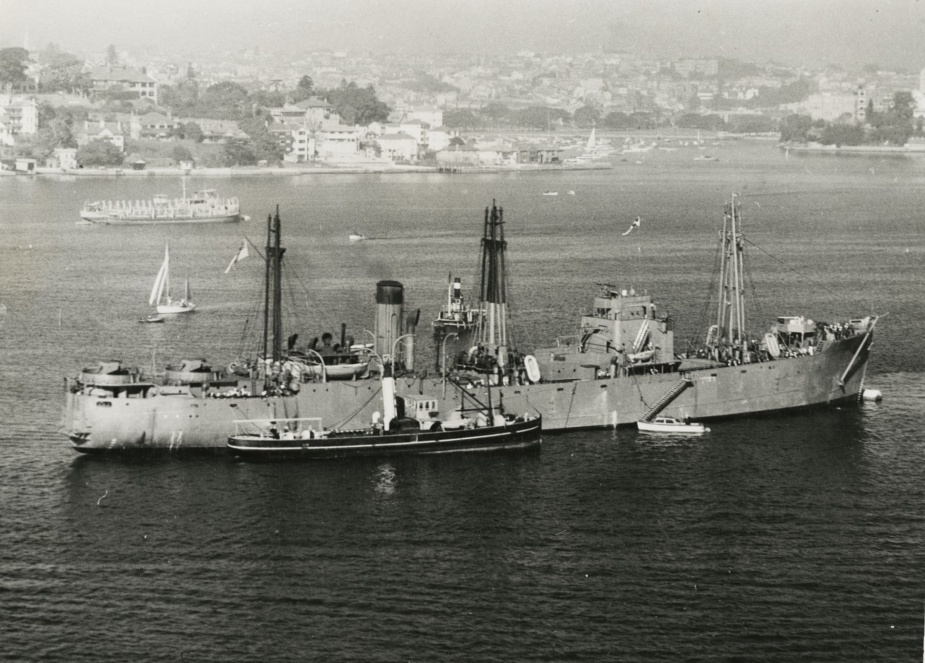 HMAS Bungaree was the RAN's only minelayer