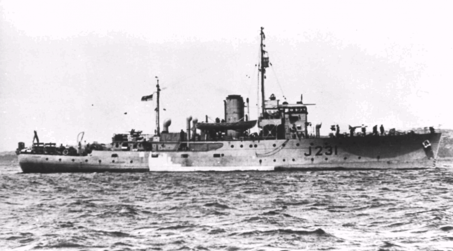 In September 1945, Bundaberg proceeded to Borneo where she took part in the recovery of Allied prisoners of war.
