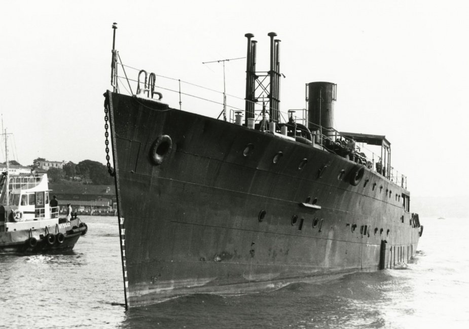 After nine years in Reserve, Colac was taken in hand in 1962 for conversion to a tank cleaning vessel. Colac ceased service as a tank cleaning vessel on 30 September 1983. She was sunk by a Mk 48 warshot torpedo fired by HMAS Ovens off Jervis Bay on 4 March 1987, in position 34°49.2´south, 151°32´east.