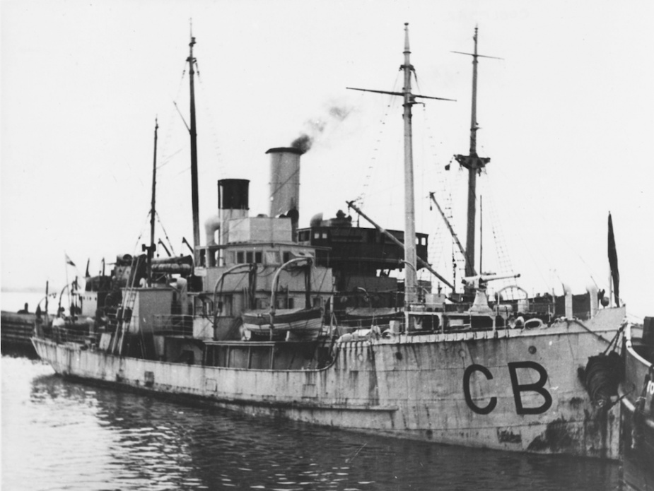 The venerable tender HMAS Coolebar.